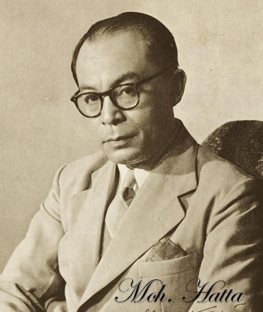 Foto Moh. Hatta Wakil Presiden Indonesia Pertama
