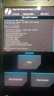 Sukses root Samsung J5 atau J7 (SM-J700H/F) 4