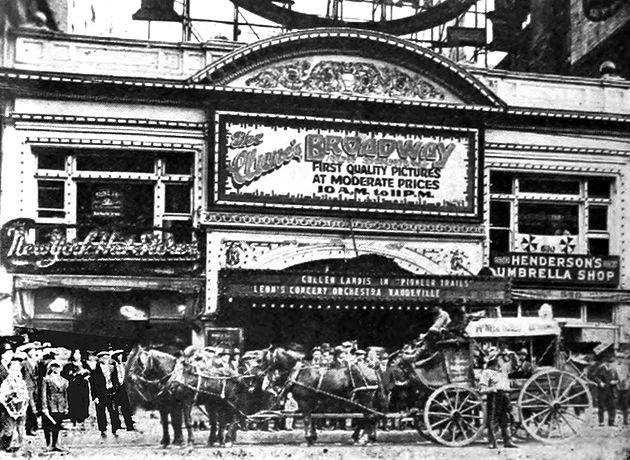 Los Angeles Theatres: Cameo Theatre: exterior views