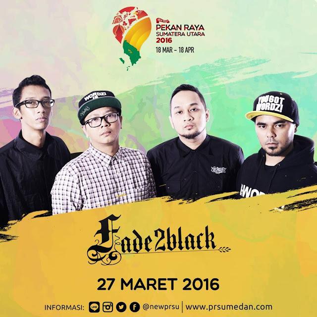 Penampilan Fade2Black di Pekan Raya Sumatera Utara 2016