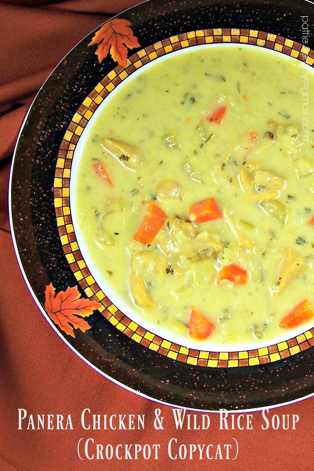 olla podrida panera chicken u0026 wild rice soup crockpot copycat