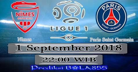 Prediksi Bola855 Nimes vs Paris Saint Germain 1 September 2018