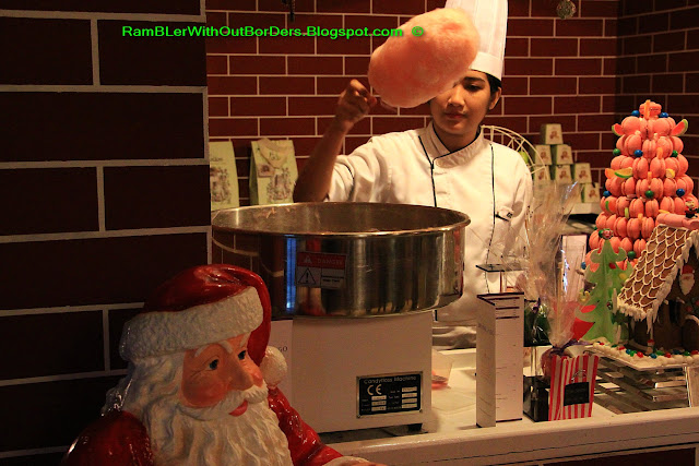 Fairy floss, cotton candy, Hotel Sofitel Philippine Plaza Manila, Philippines