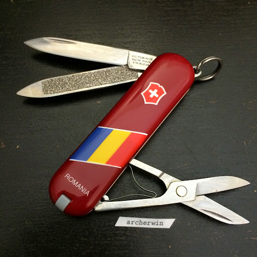 COLLECTION: Victorinox Classic Romania National Flag 58mm (1990s)
