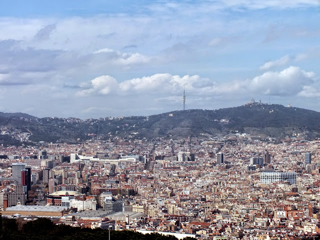 el mejor mirador de Barcelona, Montjuic
