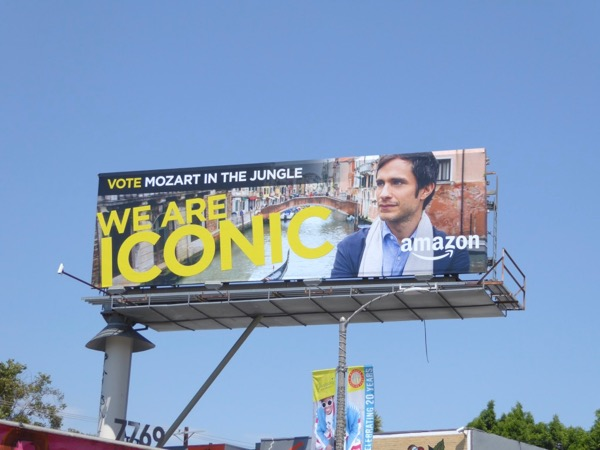 Mozart in Jungle We are Iconic Emmy billboard
