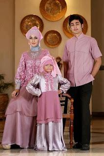 Model Pakaian Pesta Keluarga Muslim Modern Terbaru