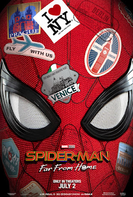 Spider Man Far From Home Movie Poster 1