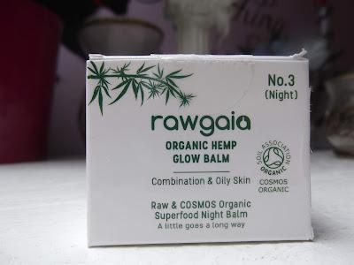 Rawgaia Organický Nočný Balzám s Konopím