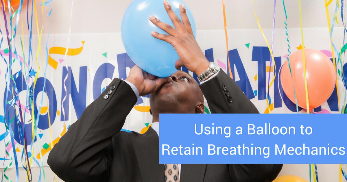 Using a Balloon to Retain Breathing Mechanics   Modern ...