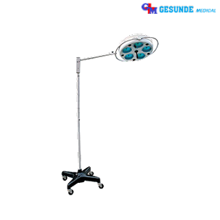 Lampu operasi Stand Non Halogen 5 Bulb