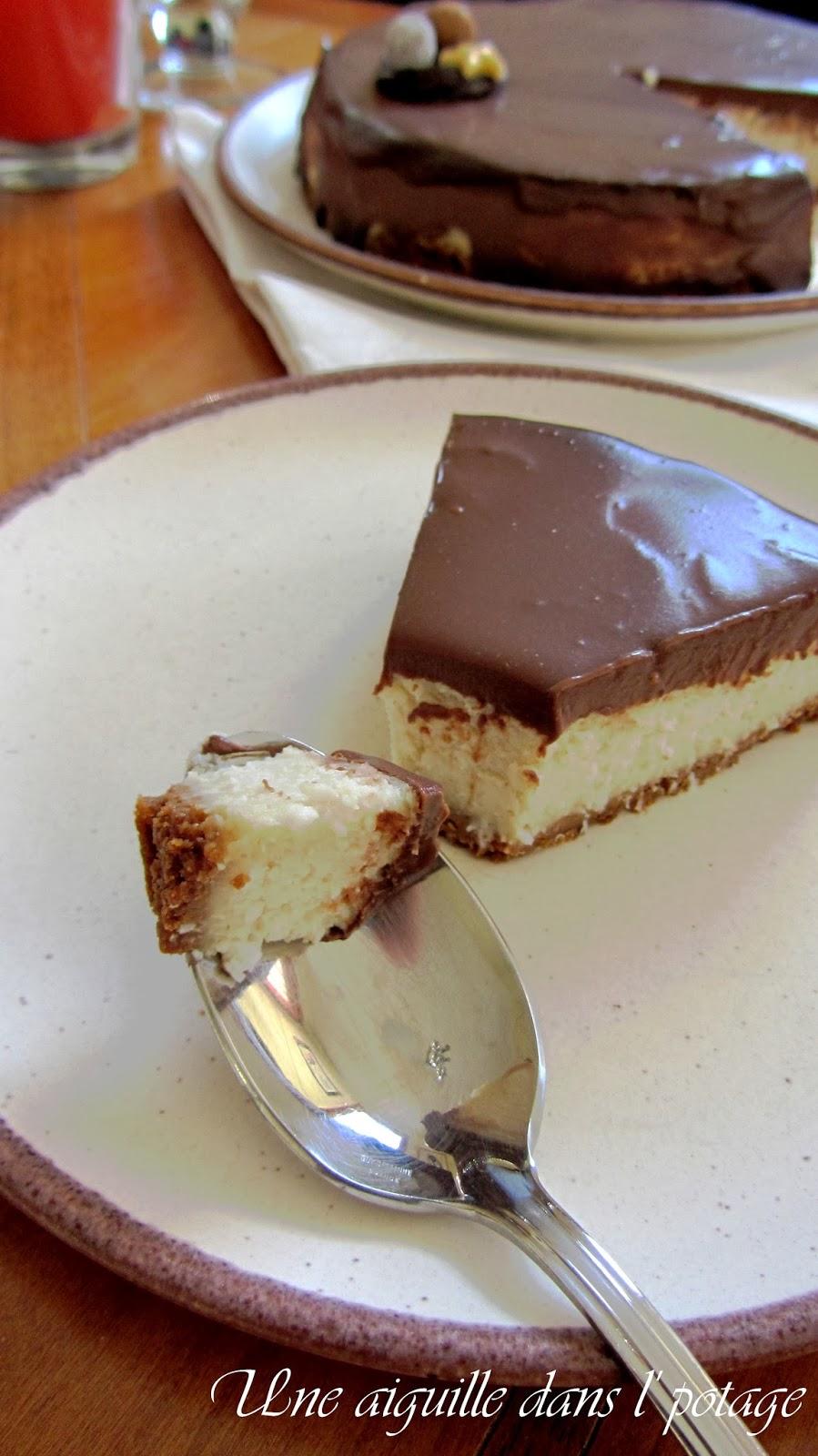 cheesecake chocolat-coco (végan)