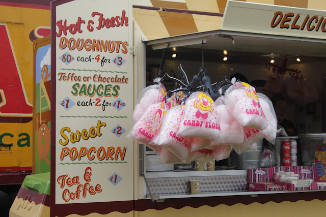 Prices of the Carters Steam Fair Doughnut van products.
