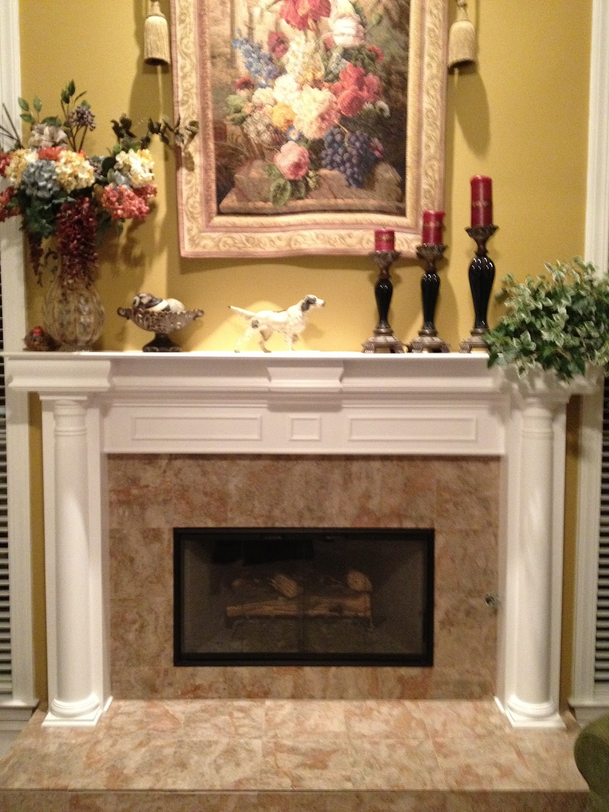 Fireplace Decorating: How to Build Fireplace Doors Using