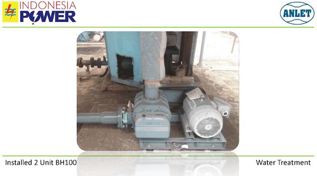 Root Blower untuk proses pengolahan limbah