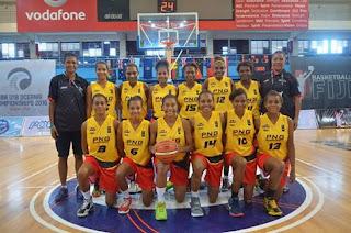 PNG U18 Women's take home bronze