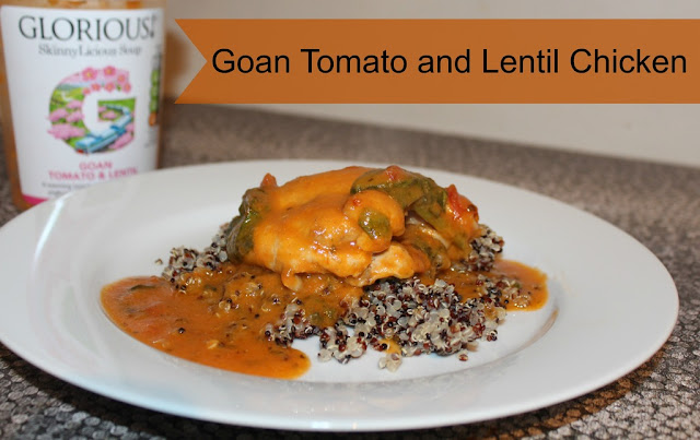 Goan tomato and lentil chicken