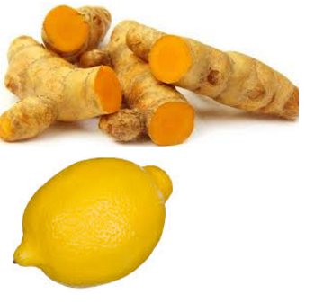 Turmeric and lemon Remedy for Dark Underarms