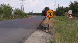 Două drumuri naţionale din Dolj, fără marcaje rutiere