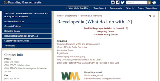 http://www.franklinma.gov/recycling-solid-waste/pages/recyclopedia-what-do-i-do