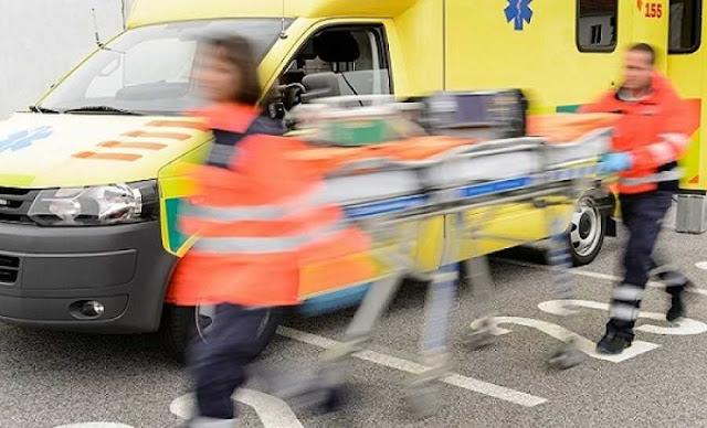 Τροχαίο ατύχημα στο Βιβάρι με τραυματία οδηγό δίκυκλου