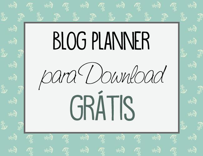 Disponibilização gratuita de planner + Diário em Fotos.