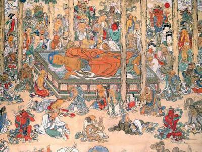 東福寺の大涅槃図