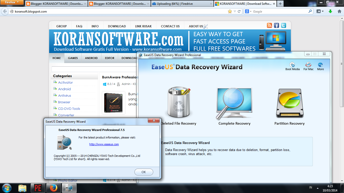 Free software data recovery full version download