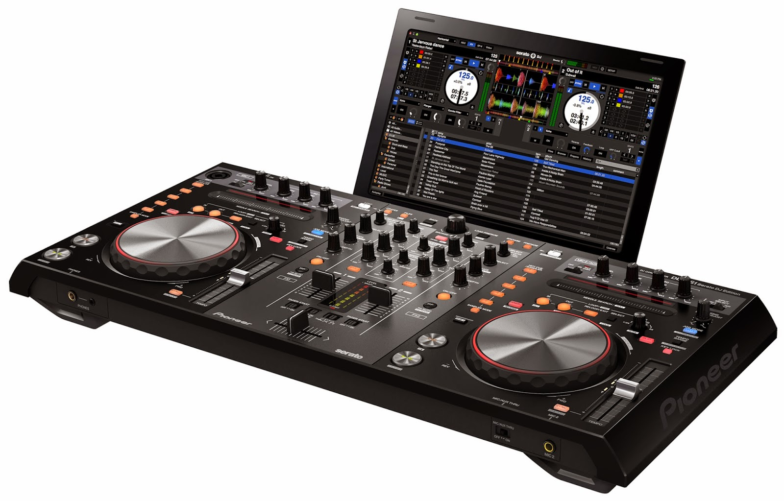 Download Serato DJ 1.1.1 + Crack For Mac