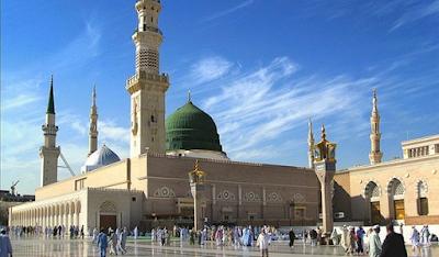 Masjid al-Nabawi Di Medina Arab Saudi