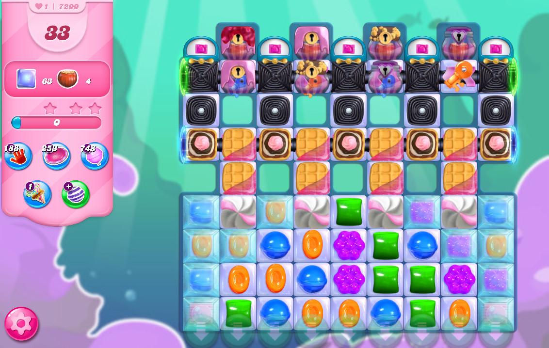 Candy Crush Saga level 7200