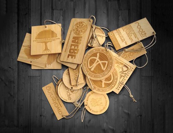 In thẻ bài, thẻ treo, nhãn mác quần áo, price tag đẹp, giá rẻ tại Hà Nội Wood