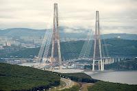 Puente Russky (Vladivostok, Rusia)