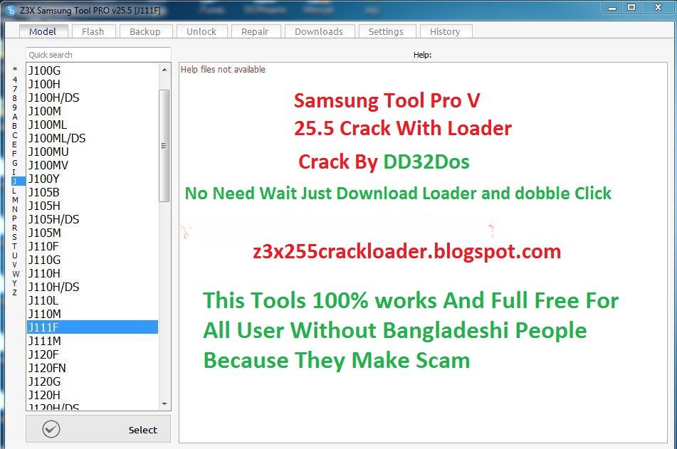 Samsung Z3x Tool pro 25 5 Full Crack Loader: Samsung Tool Pro Z3x