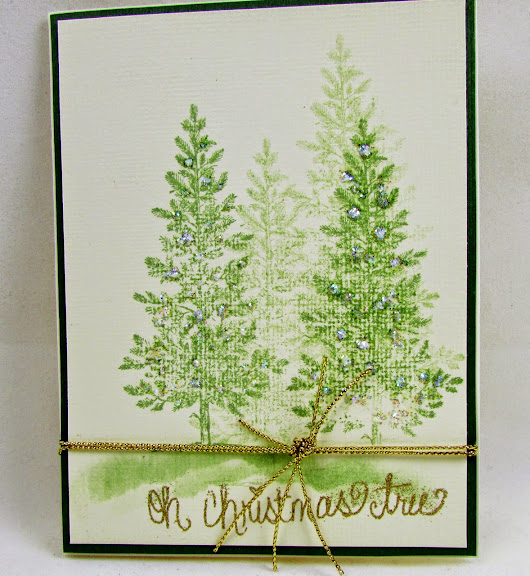 Dawns Craft Place: Lovely As A Tree Cards