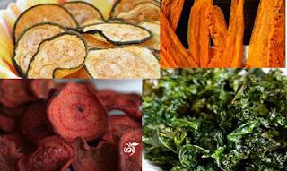 QSN: Chips de verduras
