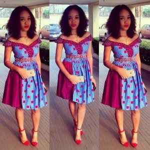 Sandra Spicy: Aso ebi friday: Ankara short gown Styles