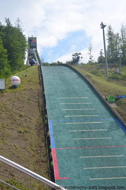 Wisła- skoki narciarskie w wersji letniej