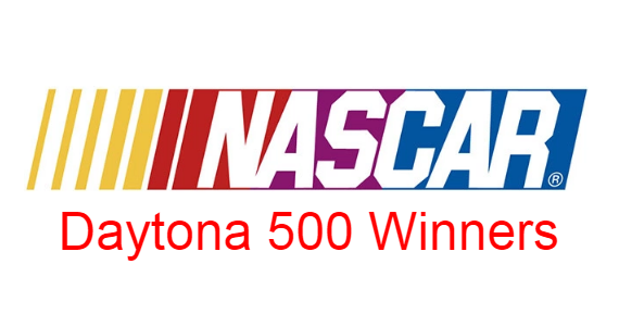 NASCAR Daytona 500, motor race, Past Winners- Champions, list, year.