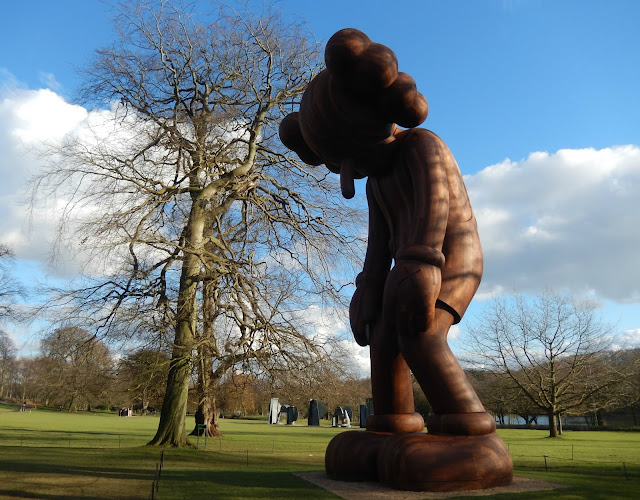 KAWS exhibition at the Yorkshire Sculpture Park