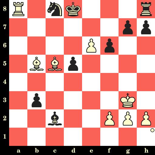 Les Blancs jouent et matent en 4 coups - Gawain Jones vs Ivan Cheparinov, Hengshui, 2019