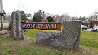 Moseley Mill sign on Hayward St