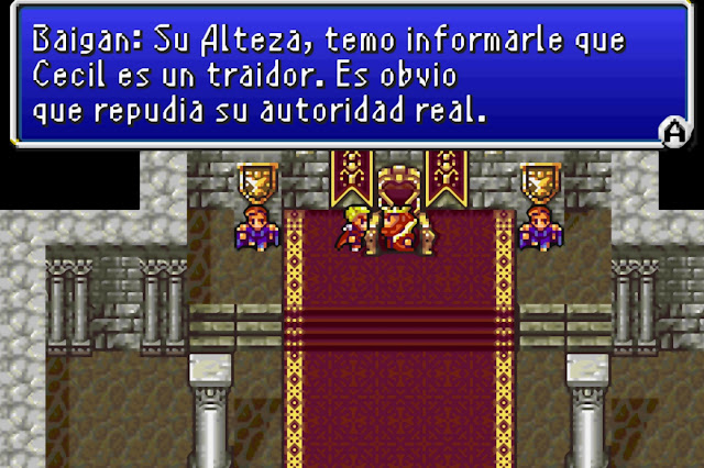 Final Fantasy IV Advance - Español - Captura 4