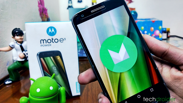 Moto E3 Power getting new update with October Security Patch in India