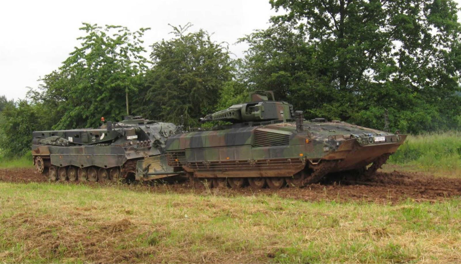 Masalah dengan peralatan militer baru dimulai di Jerman
