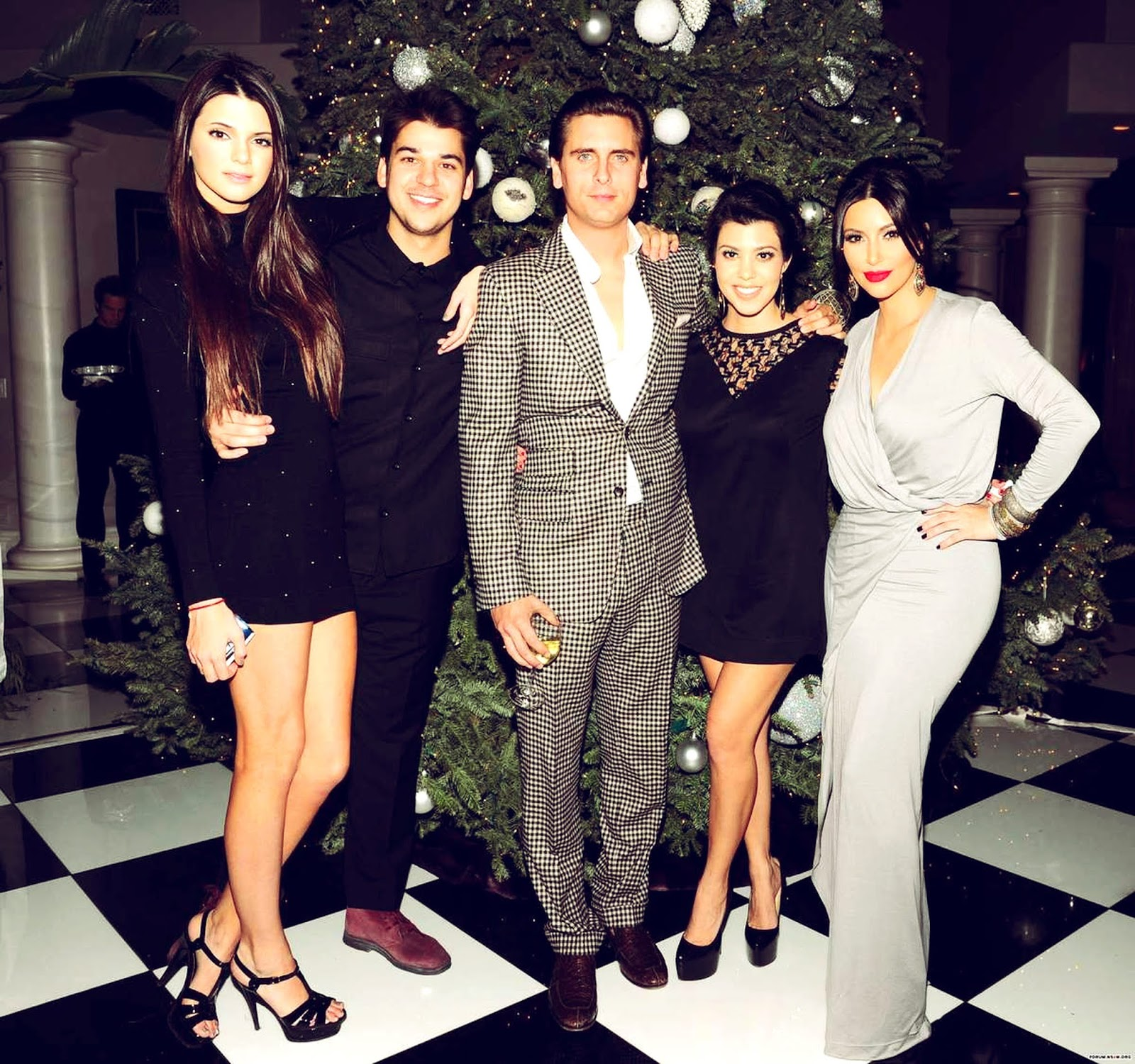 1 - The Kardashian's Annual Christmas Eve Party 2011