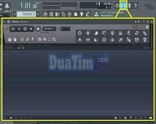 cara meredam suara drum dengan flstudio 12