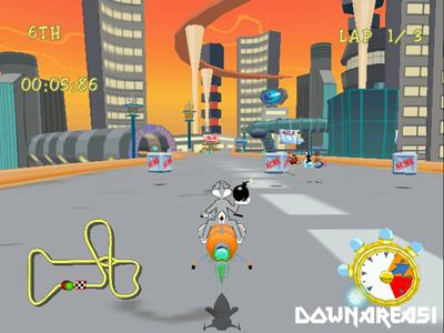 Looney Tunes Space Race Dreamcast ISO - Download Game PS1