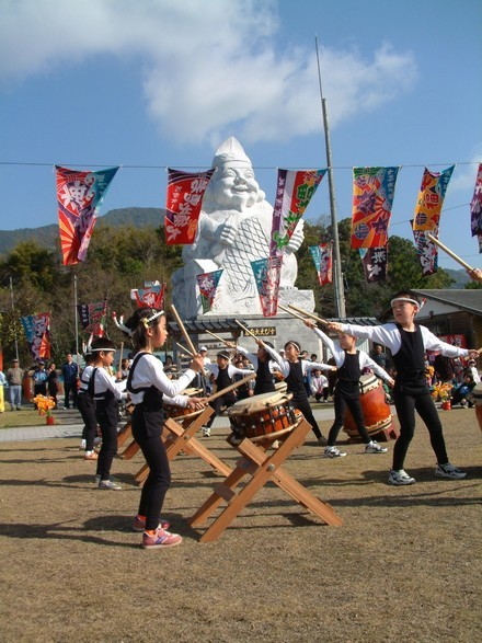 Kuratake Ebisu Festival, Amakusa City, Kumamoto Pref.