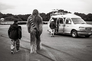 Chewie Goes To The Van